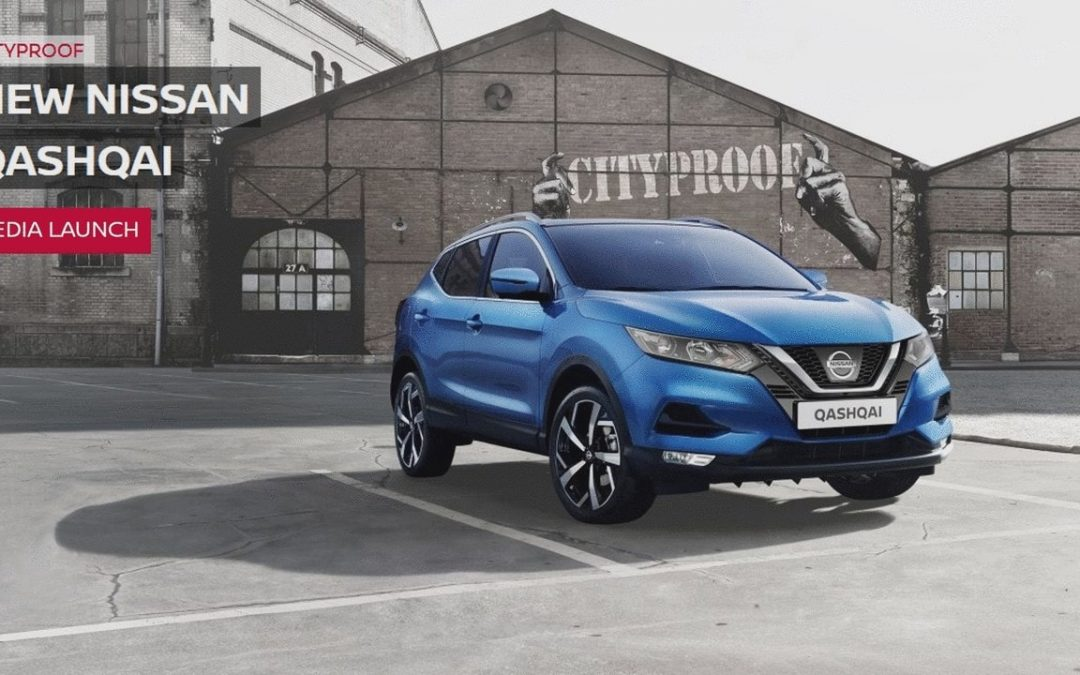 Nissan Qashqai Media Launch Event