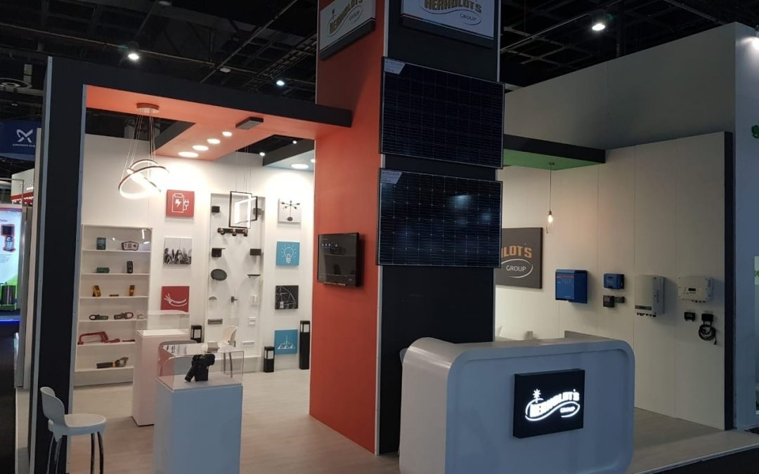 Herholdt's Solar Show Exhibition Stand