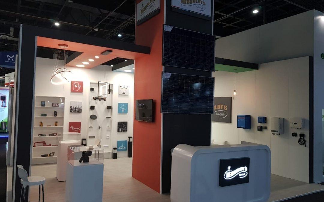 Herholdt's Solar Show Exhibition Stand