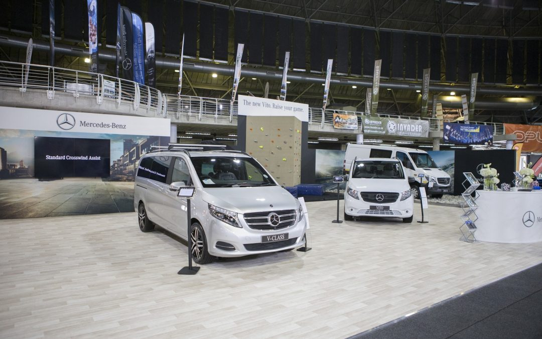 Mercedes-Benz Commercial Vehicles Getaway Stand