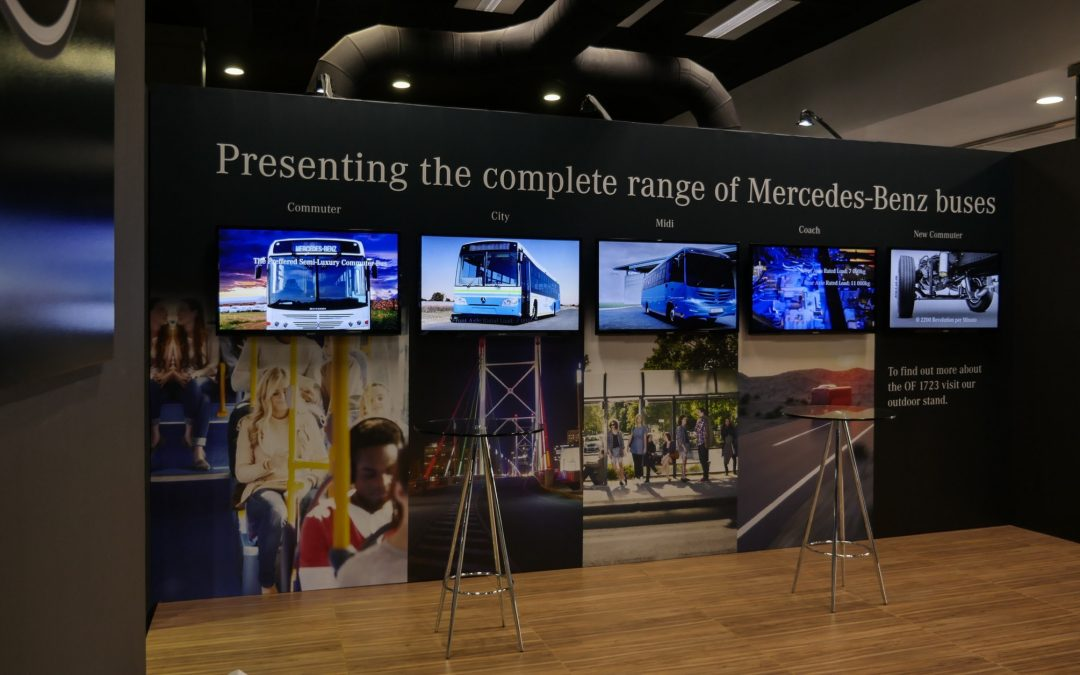 Mercedes-Benz SABOA 2017 Exhibition Stand