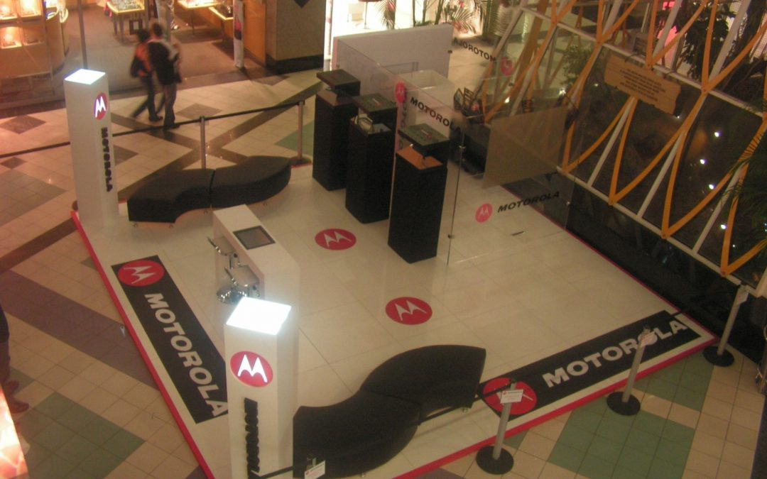 Motorola Brand relaunch in Malls across South Africa