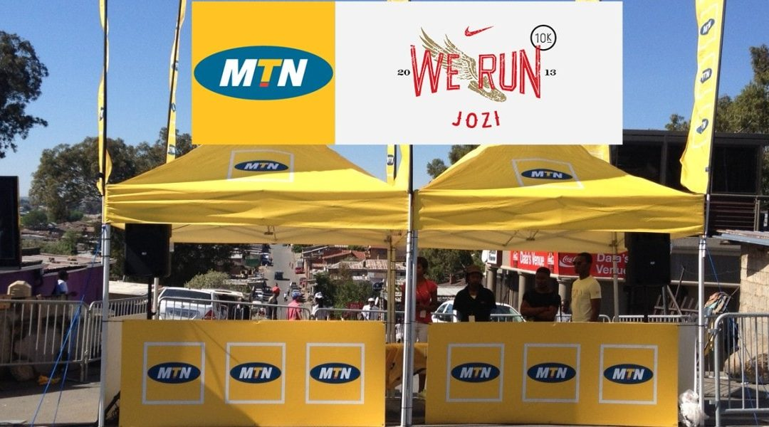 MTN Nike We Run
