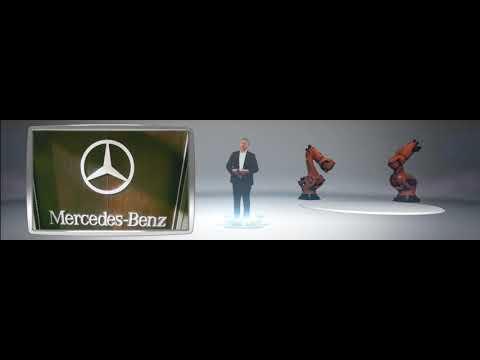 Mercedes-Benz C-Class 3D cinema