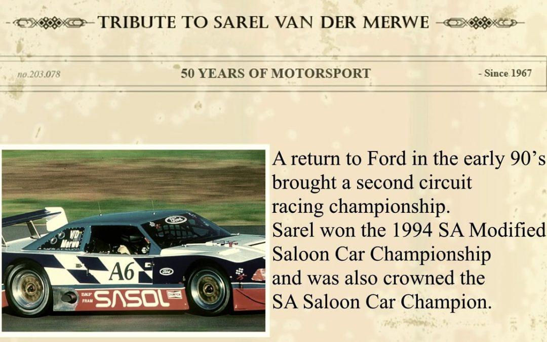 Puma Elite Classics Sarel van der Merwe Heritage AV