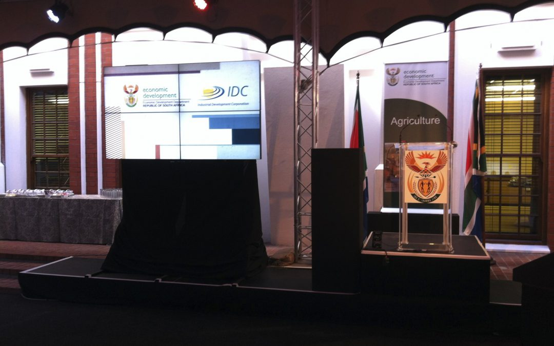 Durban ICC's Cop17 and Cape Town Parliament's Budget Speech for the IDC